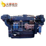 Weichai wd10/ Wd615 190HP Motor diesel marítimo 140kw Motor de barco