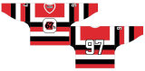 Liga de Hóquei de Ontário personalizados Ottawa 67s 1967-1998 Home/Road Hóquei no Gelo Jersey
