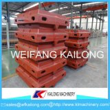 Cadres élevés de sable de production, flacon de Molulding, produit malléable de cadre de moulage de sable de fer de fonte grise