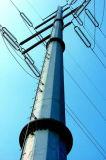 Heißes BAD galvanisierter elektrischer Stahl Pole für Kraftübertragung-Zeile