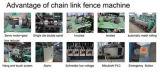 フルオートのチェーン・リンクの塀によって編まれる網機械価格