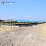 Structure légère en acier métallique préfabriqué pour la construction Entrepôt