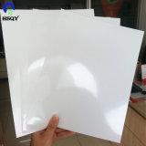 PVCプラスチックシートのロールスロイスの白く光沢度の高いプラスチックシート