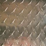 Plaque en aluminium gravée en relief avec la configuration de peau d'orange