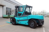 Solid Tyre를 가진 10t Electric Forklift 10 Ton Battery Forklift