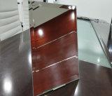 安全斜めのシャワー室の銀ミラー