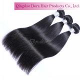 De populaire Lange Uitbreidingen van het Menselijke Haar kunnen Natuurlijk Zwart Maagdelijk Haar verven