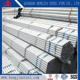 Оцинкованных труб стальных сварных швов трубопроводов для основы использования строительных материалов