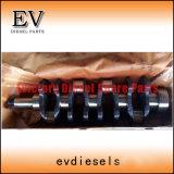 As peças do motor da escavadeira W04e W04D W04C-T W04TC W06D W06e Conjunto do Rolamento Principal do Virabrequim