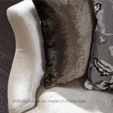 Modernes beige Gewebe-Sofa der Entwurfs-Ausgangsmöbel-123