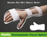 Attelles thermoplastique - Mitt Pan au repos de l'éclisse de précoupe