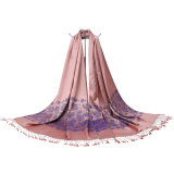 De in het groot Geweven Sjaal van de Jacquard voor Dame