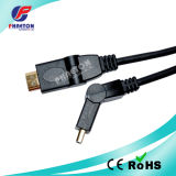 AV Comunicación Cable de datos HDMI con Ethernet Ferrite (pH6-1209)
