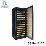 Poupança de energia de resfriamento de ar do refrigerador de vinho da porta de vidro