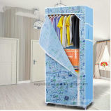 현대 간단한 옷장 가구 직물 접히는 피복 병동 저장 회의 특대 증강 조합 간단한 옷장 (FW-30B)