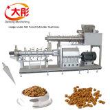 Pelota automática do alimento de cão do vapor que faz a linha da máquina