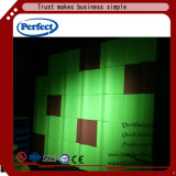 Comitato di parete acustico del poliestere dei materiali 3D della decorazione
