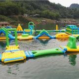 Grande sosta gonfiabile dell'acqua per i giochi in acqua