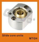 Moulage de faisceau de glissière de pièces de moulage situant du moulage de faisceau de glissière de pièces de moulage