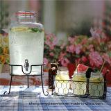 Tampa de vidro hermética do recipiente quente do suco do frasco do armazenamento do vinho do Sell