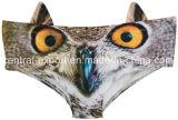 耳を搭載する女性のためのSexy Panties新しいデザイン3D動物プリント