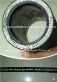 4 Draht-gewundenes hydraulisches Gummirohr für hydraulische Maschinerie