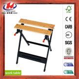 Banc de travail de banc de travail en bois stratifié pour meubles