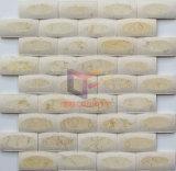 Pulido de cara a cara mate como Espejo Mosaico de piedra de mármol (CFS1076)