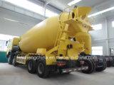 camion del miscelatore di cemento di 371HP Sinotruk HOWO 9m3