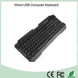 Прочные UV-Coated ключи связали проволокой клавиатуру компьютера (KB-1688)