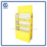 Kundenspezifische Metallmilchschokolade-Supermarkt-Bildschirmanzeige-Zahnstange