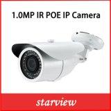 IP van de Veiligheid van kabeltelevisie van het Netwerk van de 1.0MP720p Poe Waterdichte IRL Kogel Camera