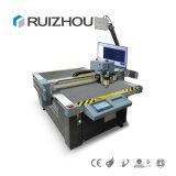 Kleines Modell CNC-echtes Leder-Ausschnitt-Maschine für Beispielprodukte