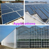 熱い販売の低い鉄の太陽電池パネルガラス