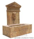 Fontaine d'eau extérieure découpée de fontaine de marbre de fontaine d'eau de jardin