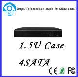 Gravador de vídeo NVR da rede da monitoração remota do caso 1.5u 4SATA do H. 265 {NVR8032f-Q}