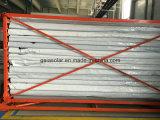 Les deux tube ouvert d'absorption de côté pour le collecteur parabolique de cuvette