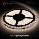 Tira flexible de la tira 3020 LED del color blanco 10m m LED con el CE RoHS de la UL