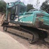 Máquina escavadora usada Kobelco Sk250-8 da condição de trabalho