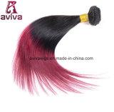 매끄러운 똑바른 파 100%년 Virgin 머리 Ombre 자연적인 Virgin 머리 연장