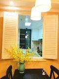 Штарка плантации окна PVC ванной комнаты водоустойчивая