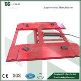 Punto único de alta precisión de tijeras de liberación del bloqueo de elevación del vehículo