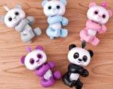 Finger-Panda-Fingerspitze-Fallhammer-Finger-Eichhörnchen-Tarnung-Fallhammer-Einhorn-Trägheit-Finger-Kaninchen