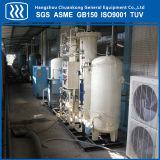 Gerador de gás de planta de nitrogênio em oxigênio psa