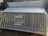 barriera d'acciaio di traffico del blocco per grafici di 32mm/barriera usata di controllo di folla