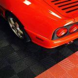 La nervure de plancher en plastique pour garage, tapis voiture-de-chaussée, Garage Carrelage coussin sols sportifs de verrouillage