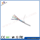 FTP Cat5e Cable LAN con PVC/Chaqueta LSZH Cable de red