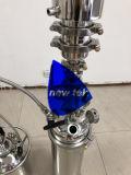 Acero inoxidable 2lb relleno superior extractores de bucle cerrado