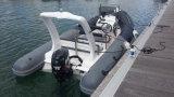 Canot automobile gonflable rigide d'Aqualand 18feet 5.4m/bateau pêche de côte (rib540b)