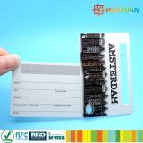 Agência de aviação da etiqueta de nome de ID hang tag (etiqueta de bagagem de PVC de viagens com o tirante